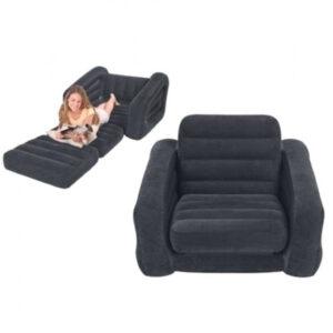 Aufblasbarer Outdoor Sessel, ausziehbar als Einzelbett